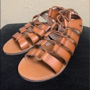 Greco Roman style sandals, size 7